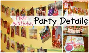 1st birthday party themes for boys birthday party ideas details decorations harvard homemaker