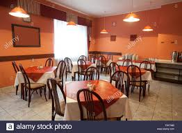 Low Cost Restaurant Interior Design Interior Of Low Cost Cafe Stock Photo Royalty Free Image