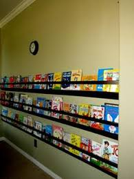 Vinyl Rain Gutter Bookshelves - how to make a rain gutter bookshelf shelves pinterest gutter