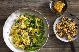 fenouil cuisiner salade de fenouil et d avocat recette fooby ch
