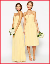 affordable bridesmaid dresses inspirational yellow bridesmaid dress collection of wedding idea