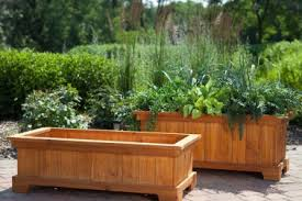 Wooden Planter Box Plans by 23 Garden Planter Box Ideas Patio Garden Planter Box Plans Ideas