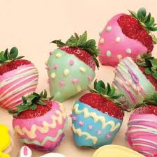 White Chocolate Covered Strawberries By Easter Chocolate Covered Strawberries White Chocolate Candy