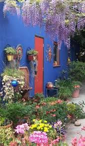 Mexican Patio Decor Outside Space Veranda Azul Find A Lot Of Viralimages And