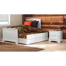 Twin Captains Bed With Drawers Better Homes And Gardens Kids Sebring Twin Captain U0026apos S Bed With