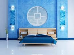 wall painting ideas blue modern interior design inspiration