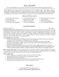 Sample Resume For Retail Manager Position by Resume For A Retail Job Template Billybullock Us