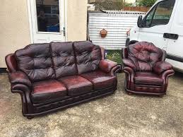 sofas chesterfield style chesterfield style vintage look pegasus ox blood leather sofa 3