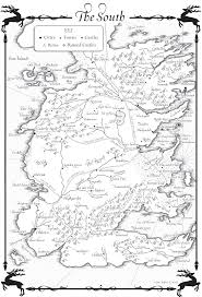 Map Of The South The South Westeros Songoficeandfire Maps And Charts