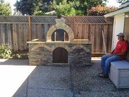 conetto natural gas brick pizza oven california brickwood ovens