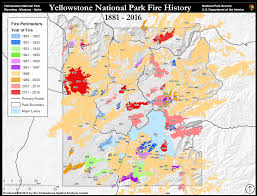World War 2 Interactive Map by Fire History Yellowstone National Park U S National Park Service