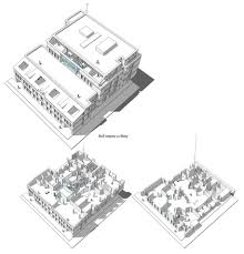 Perspective Sketch Of A Manager Office The Making Of The Innova Illustrated Isometric Office Plan