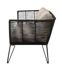 canap ext rieur canapé extérieur black de la marque bloomingville réf 50255217
