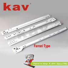 best this week kav powder coating sliders soft close drawer