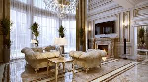 interior french neo in french design living room interior