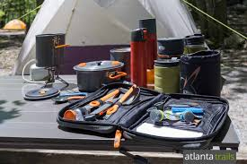 camp kitchen with gsi outdoors pacific rep works