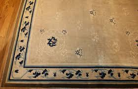 Chinese Aubusson Rugs Large Size Antique Ivory Chinese Rug 50252 By Nazmiyal