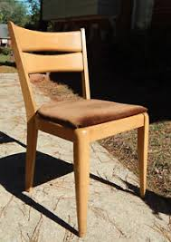 Single Dining Room Chair One Single Heywood Wakefield Dining Room Chair M 553 A Champagne