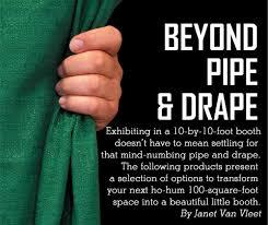Pipe And Drape Rental Seattle Beyond Pipe U0026 Drape Exhibitor Magazine