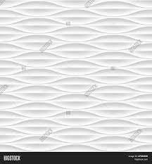white seamless texture wavy background interior wall decoration 3d