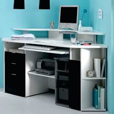 desk awesome use ikea bookshelves to turn a nook or closet into