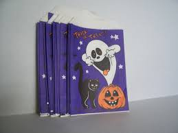 vintage halloween treat bags mega lot of 25 from practiceintime on