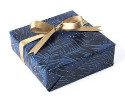 navy blue wrapping paper navy wrapping paper etsy
