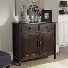 Entry Storage Cabinet Wyndenhall Hshire Chesnut Brown Entryway Storage Cabinet