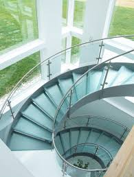 Helical Staircase Design Helical Stairs Glass Twe 622 Glass Stairs From Eestairs Architonic