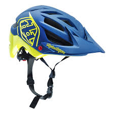 bike riding gear 2016 troy lee mtb helmet a1 drone yellow blue troy lee