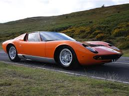 vintage lamborghini the real story behind the orange lamborghini miura in the italian