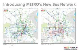Portland Bus Map by Houston U0027s Groundbreaking New Transit System U2014 Strong Towns