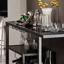 Dining Room Cart by Holly U0026 Martin Zephs Bar Cart Grey Walmart Com
