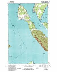 Wa Map Lummi Island Topographic Map Wa Usgs Topo Quad 48122f6