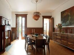 wainscoting for dining room dark wood wainscoting dining room contemporary with juxtaposition