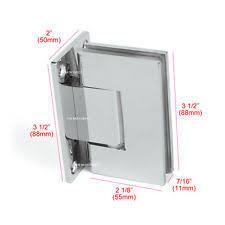 Pivot Hinges For Shower Doors Shower Door Hinges Ebay