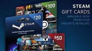 gift cards for steam 20 steam gift cards