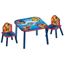 childrens table chair sets delta children table chairs set paw patrol buy at online4baby