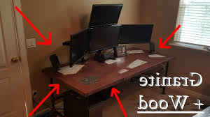 desk wooden gaming desk within fantastic cool desks corner