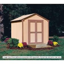 Backyard Shed Kit Handy Home Products Wood Sheds And Wood Shed Kits W Free Shipping