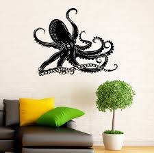 wall decal octopus color walls your house