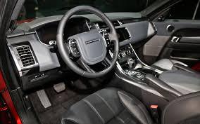 land rover hse interior 2014 land rover range rover sport hse top auto magazine