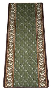 amazon com dean washable non skid carpet rug runner trellis