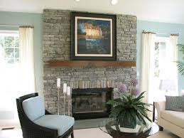 natural stone fireplace residential photo gallery indoor installation of natural thin stone