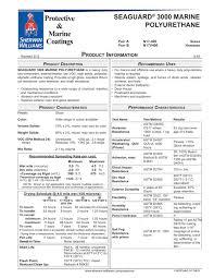 seaguard 3000 marine polyurethane sherwin williams pdf