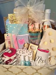 engagement gift baskets engagement gift grits and pearls