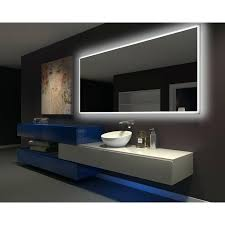 Backlit Mirrors Bathroom Backlit Mirrors For Bathrooms Led Wall Mounted Vanity Bathroom Led