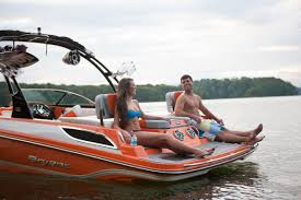 233x rear facing seats at the swim deck austinboats