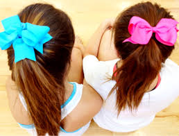 ribbon ponytail simple ribbon bow ponytail how to s on hair styling tools and