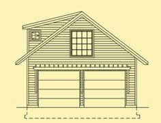 Garage Loft Plans 34 X 28 34x28 28x34 28 X 34 2 Car Garage With Loft Garage With